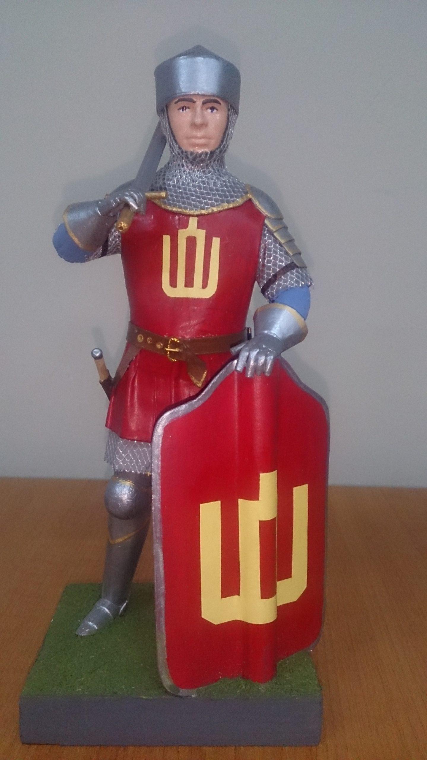 Историческая миниатюра Рыцарь Великого княжества Литовского
