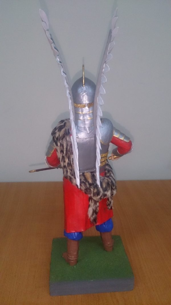 Историческая миниатюра Крылатый гусар Речи Посполитой