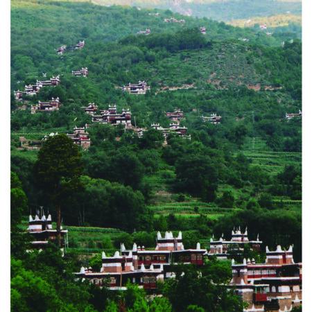 Китайская деревня. Набор открыток