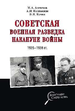 Советская военная разведка накануне войны 1935 - 1938 годов