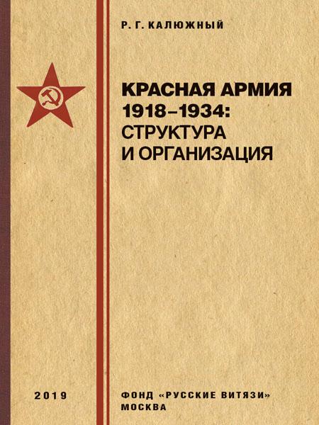 Красная армия 1918–1934: структура и организация