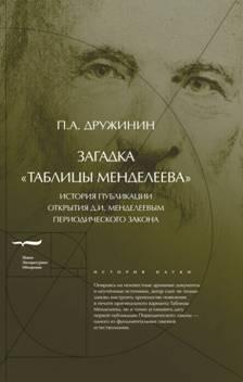 Загадка «Таблицы Менделеева»: История публикации открытия Д.И. Менделеевым Периодического закона